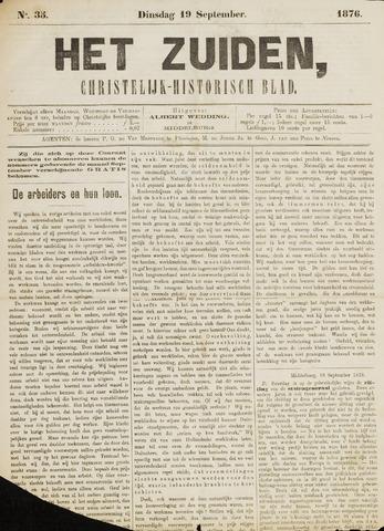 Het Zuiden, Christelijk-historisch blad 1876-09-19