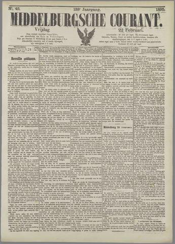 Middelburgsche Courant 1895-02-22