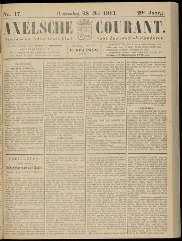 Axelsche Courant 1913-05-28