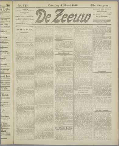De Zeeuw. Christelijk-historisch nieuwsblad voor Zeeland 1916-03-04
