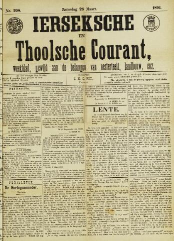 Ierseksche en Thoolsche Courant 1891-03-28
