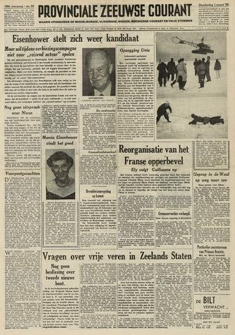 Provinciale Zeeuwse Courant 1956-03-01