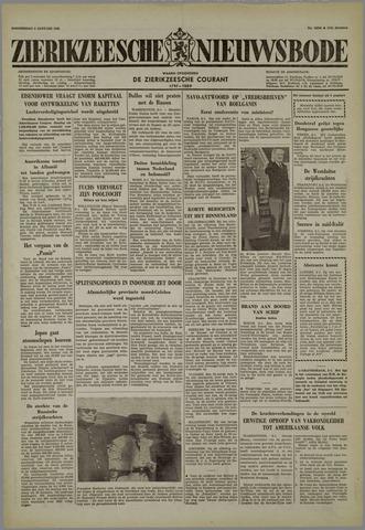Zierikzeesche Nieuwsbode 1958-01-09