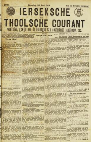 Ierseksche en Thoolsche Courant 1915-06-26