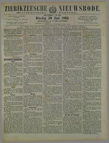 Zierikzeesche Nieuwsbode 1903-06-30
