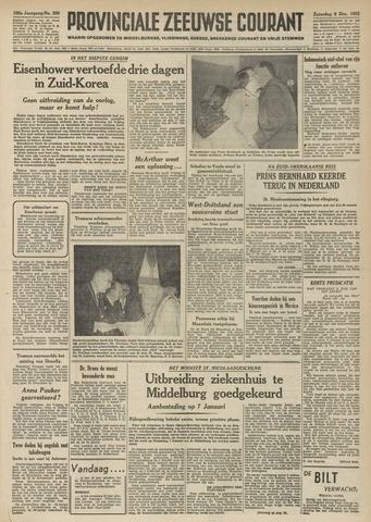 Provinciale Zeeuwse Courant 1952-12-06