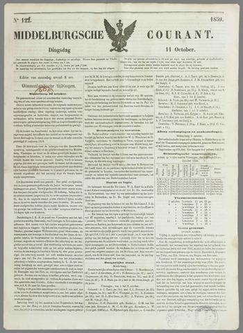 Middelburgsche Courant 1859-10-11