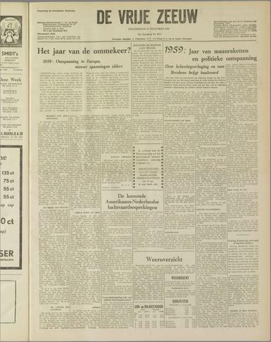 de Vrije Zeeuw 1959-12-31