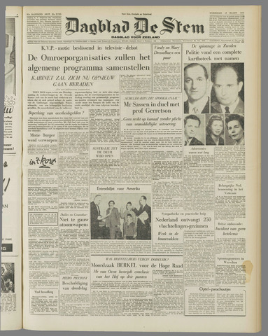 de Stem 1955-03-16