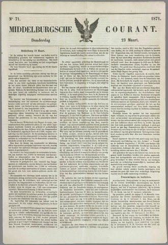 Middelburgsche Courant 1871-03-23