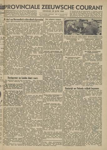 Provinciale Zeeuwse Courant 1944-06-20