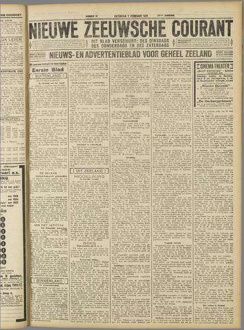 Nieuwe Zeeuwsche Courant 1931-02-07