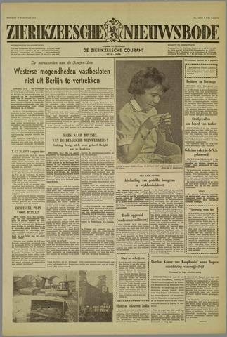 Zierikzeesche Nieuwsbode 1959-02-17