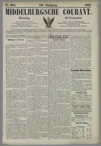 Middelburgsche Courant 1888-11-26