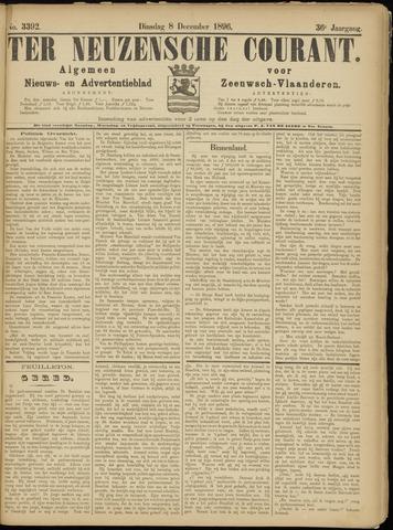 Ter Neuzensche Courant. Algemeen Nieuws- en Advertentieblad voor Zeeuwsch-Vlaanderen / Neuzensche Courant ... (idem) / (Algemeen) nieuws en advertentieblad voor Zeeuwsch-Vlaanderen 1896-12-08