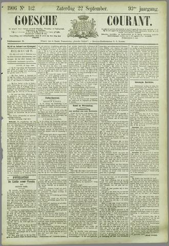 Goessche Courant 1906-09-22