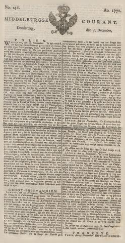 Middelburgsche Courant 1771-12-05