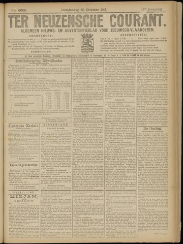 Ter Neuzensche Courant. Algemeen Nieuws- en Advertentieblad voor Zeeuwsch-Vlaanderen / Neuzensche Courant ... (idem) / (Algemeen) nieuws en advertentieblad voor Zeeuwsch-Vlaanderen 1917-10-25