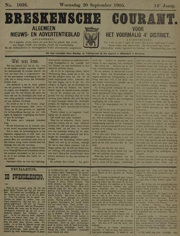 Breskensche Courant 1905-09-20
