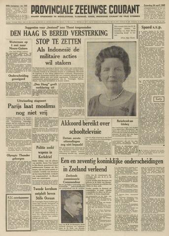 Provinciale Zeeuwse Courant 1962-04-28