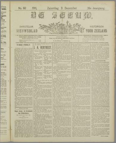 De Zeeuw. Christelijk-historisch nieuwsblad voor Zeeland 1911-12-09