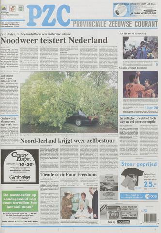 Provinciale Zeeuwse Courant 2000-05-29