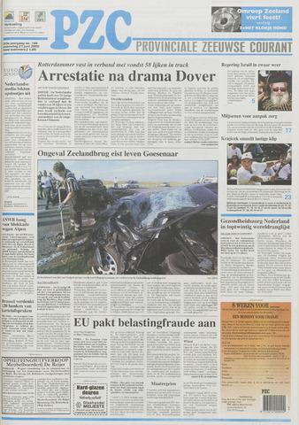 Provinciale Zeeuwse Courant 2000-06-21
