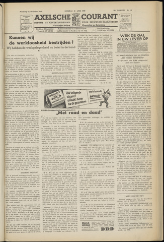 Axelsche Courant 1952-04-26