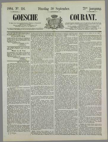 Goessche Courant 1884-09-30
