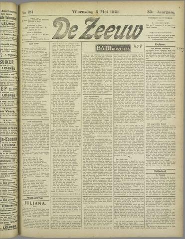 De Zeeuw. Christelijk-historisch nieuwsblad voor Zeeland 1921-05-04