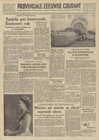 Provinciale Zeeuwse Courant 1953-04-27