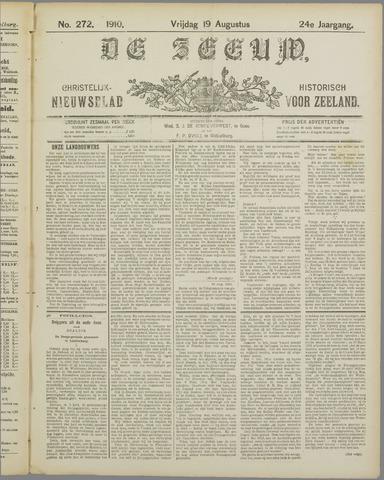 De Zeeuw. Christelijk-historisch nieuwsblad voor Zeeland 1910-08-19
