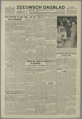 Zeeuwsch Dagblad 1950-09-14