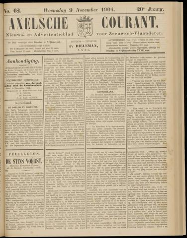 Axelsche Courant 1904-11-09