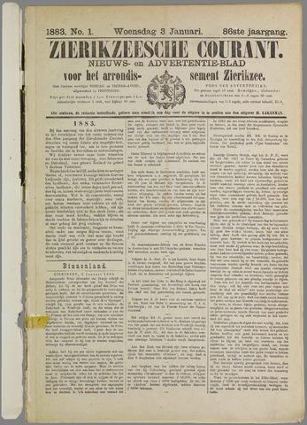 Zierikzeesche Courant 1883