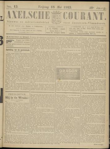 Axelsche Courant 1923-05-18