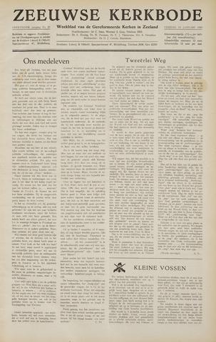 Zeeuwsche kerkbode, weekblad gewijd aan de belangen der gereformeerde kerken/ Zeeuwsch kerkblad 1959-01-16