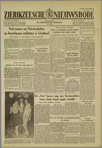 Zierikzeesche Nieuwsbode 1960-11-03