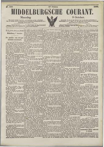 Middelburgsche Courant 1899-10-09