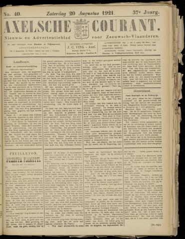 Axelsche Courant 1921-08-20