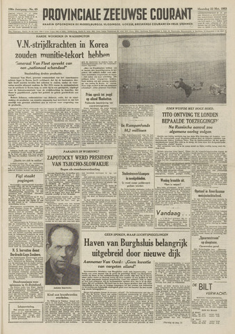 Provinciale Zeeuwse Courant 1953-03-23