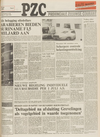Provinciale Zeeuwse Courant 1975-03-21