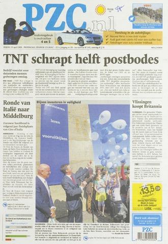 Provinciale Zeeuwse Courant 2009-04-24