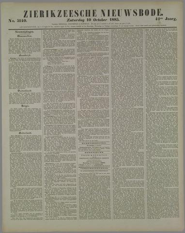 Zierikzeesche Nieuwsbode 1885-10-10