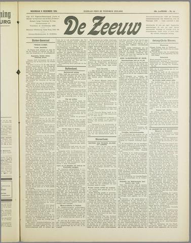 De Zeeuw. Christelijk-historisch nieuwsblad voor Zeeland 1934-12-05