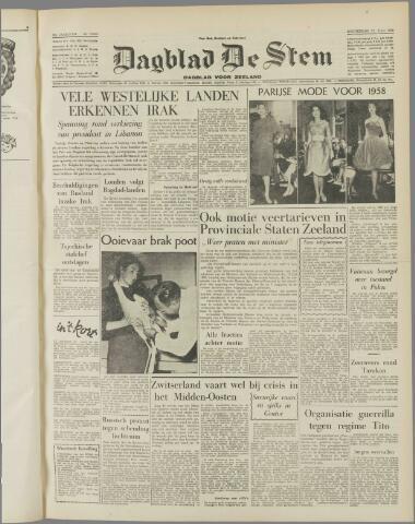 de Stem 1958-07-31