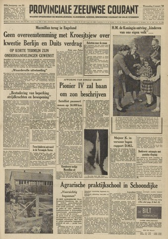 Provinciale Zeeuwse Courant 1959-03-04