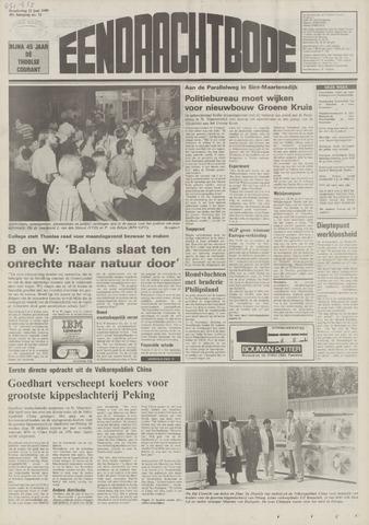 Eendrachtbode (1945-heden)/Mededeelingenblad voor het eiland Tholen (1944/45) 1989-06-22
