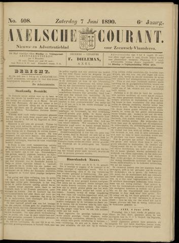 Axelsche Courant 1890-06-07