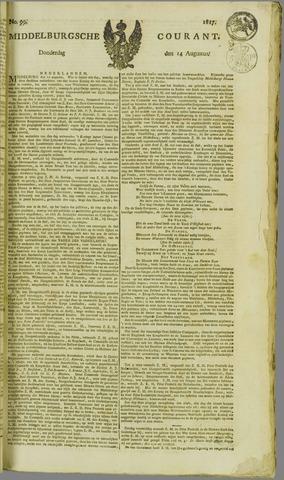 Middelburgsche Courant 1817-08-14